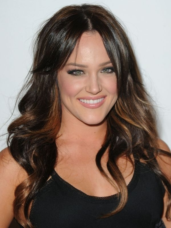 Brown Hair With Light Brown Highlights Celebrity Summer Hair