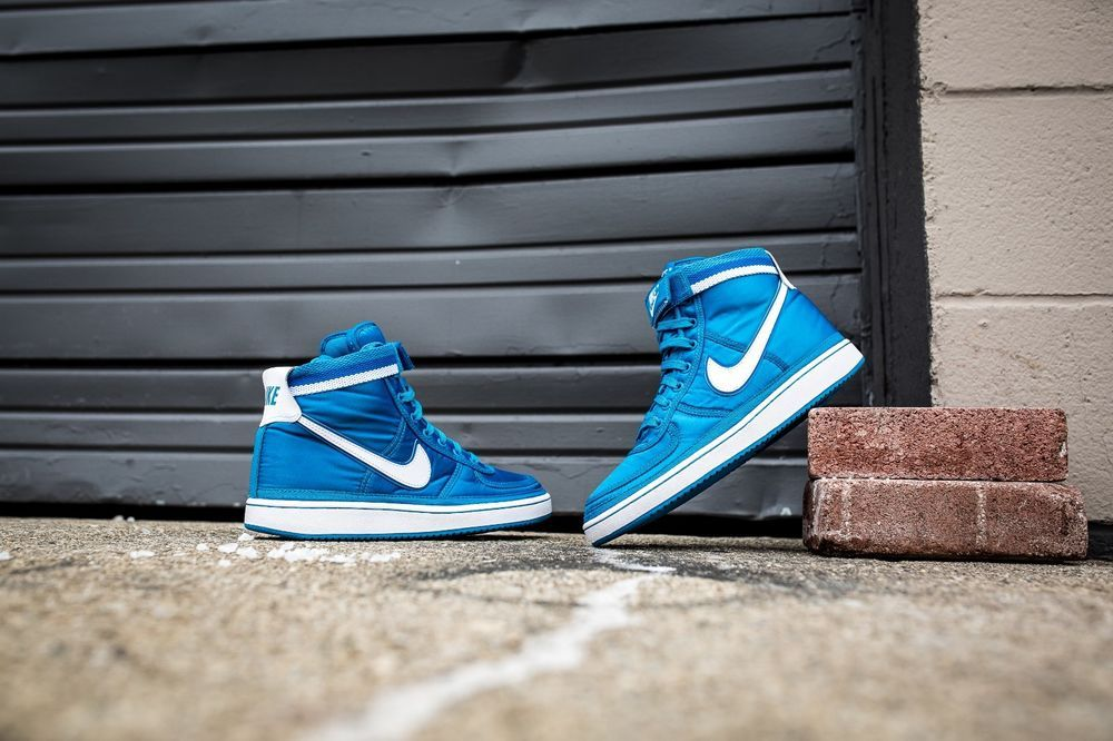 NIKE VANDAL HIGH SUPREME BLUE ORBIT & WHITE | White trainers