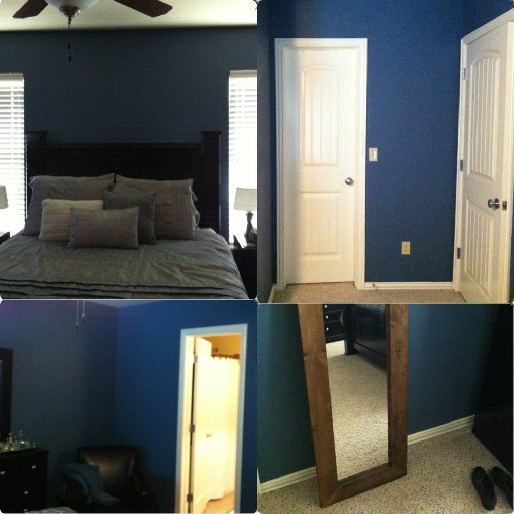 Bright Blue Master Bedroom valspar retro colonial bluelike the color but worry it might