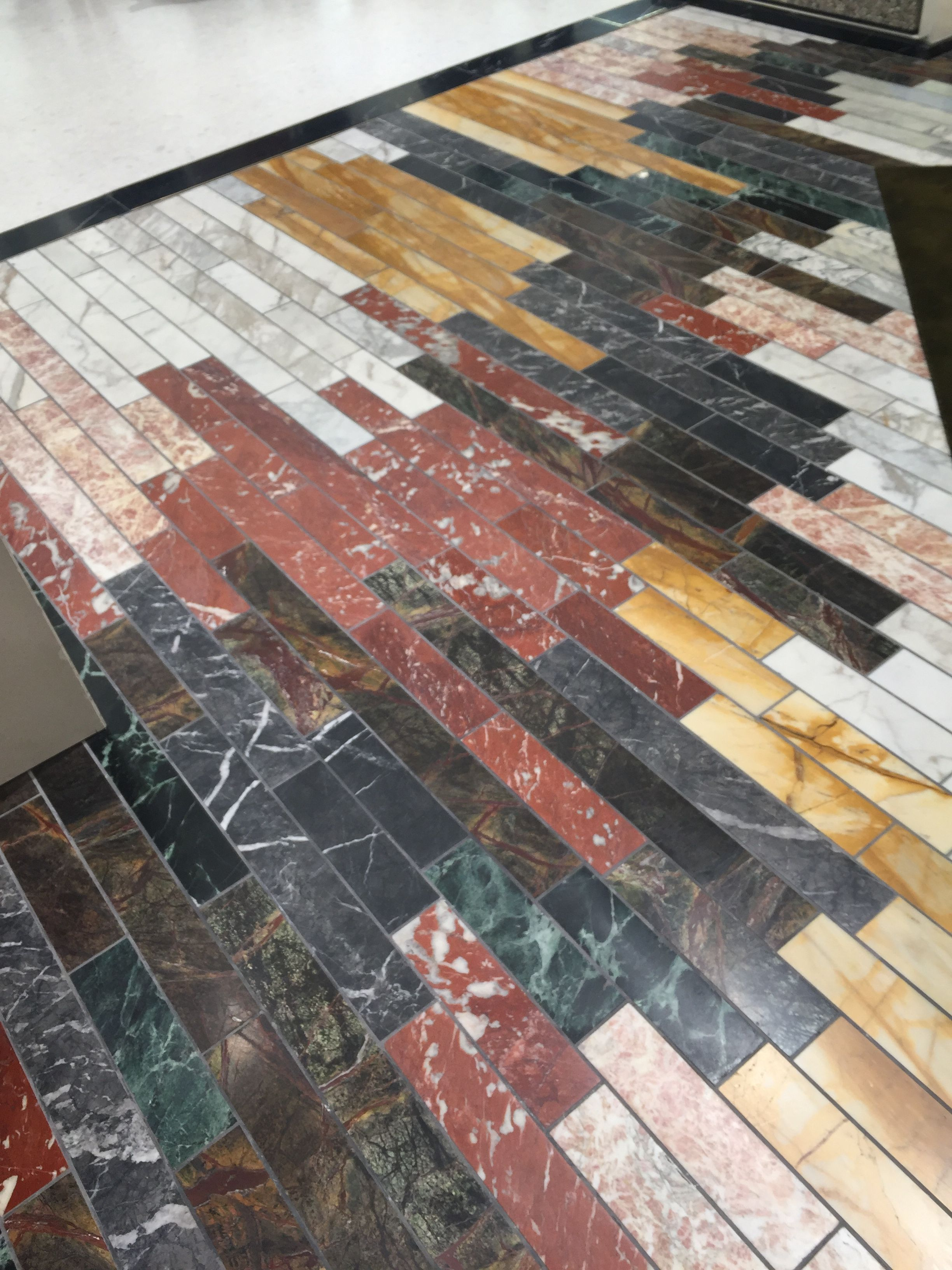 Mixed Marble Stone Floor Stone Flooring City House Marble Stones