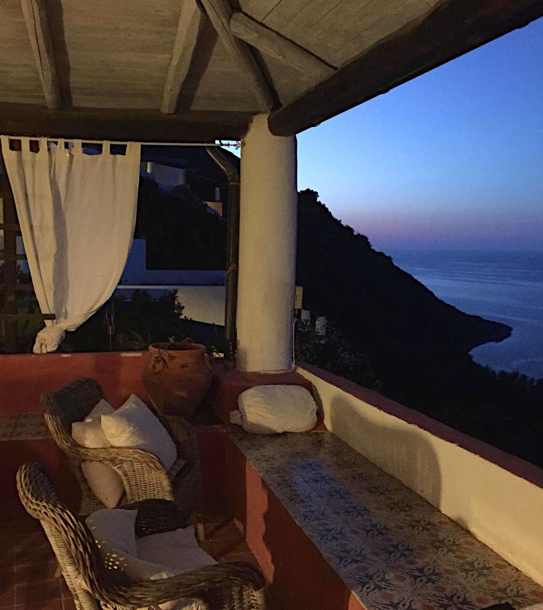 What a romantic view! #Sicily #view #Filicudi