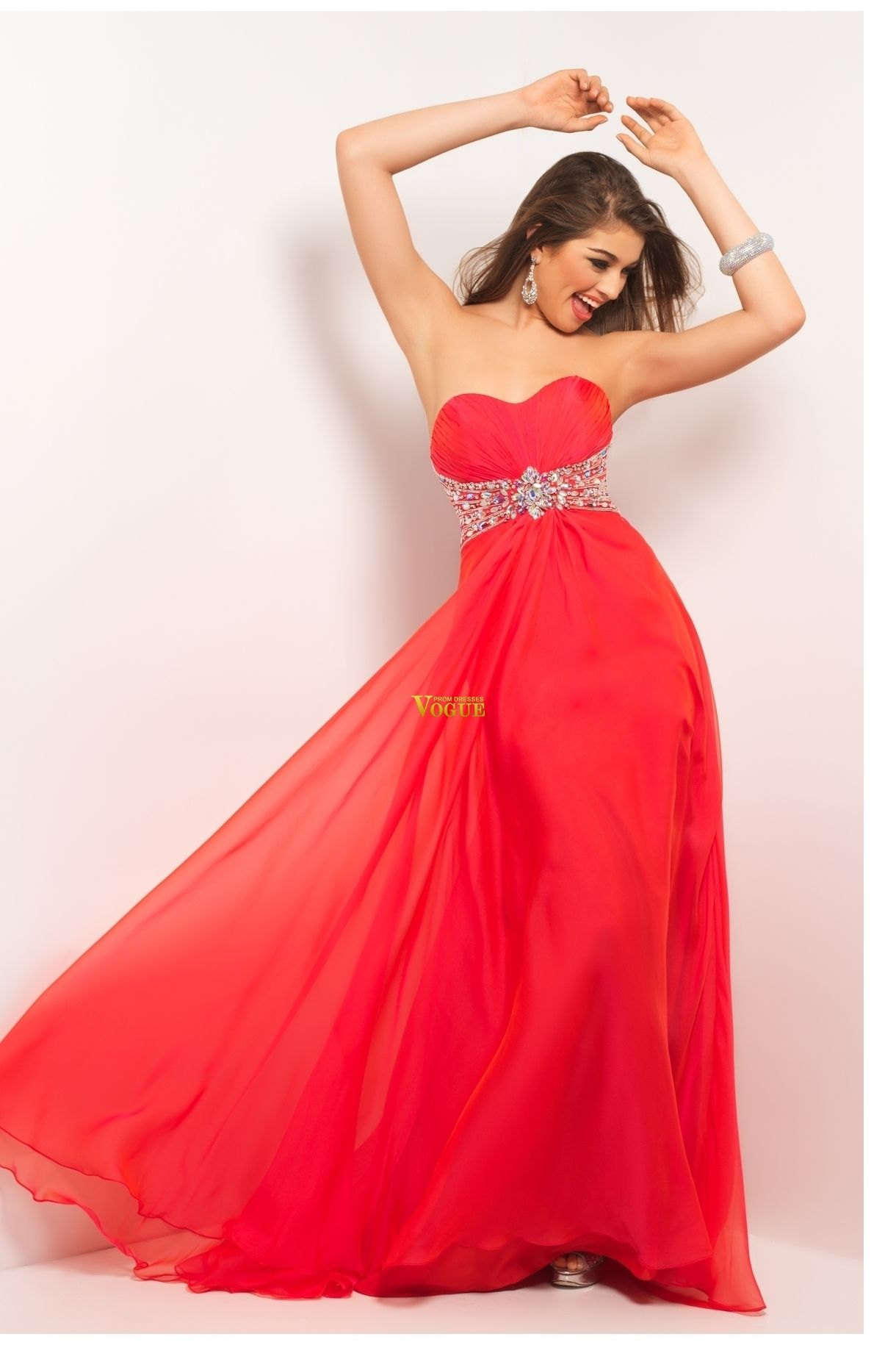 prom dresses a line floor length red sweetheart chiffon