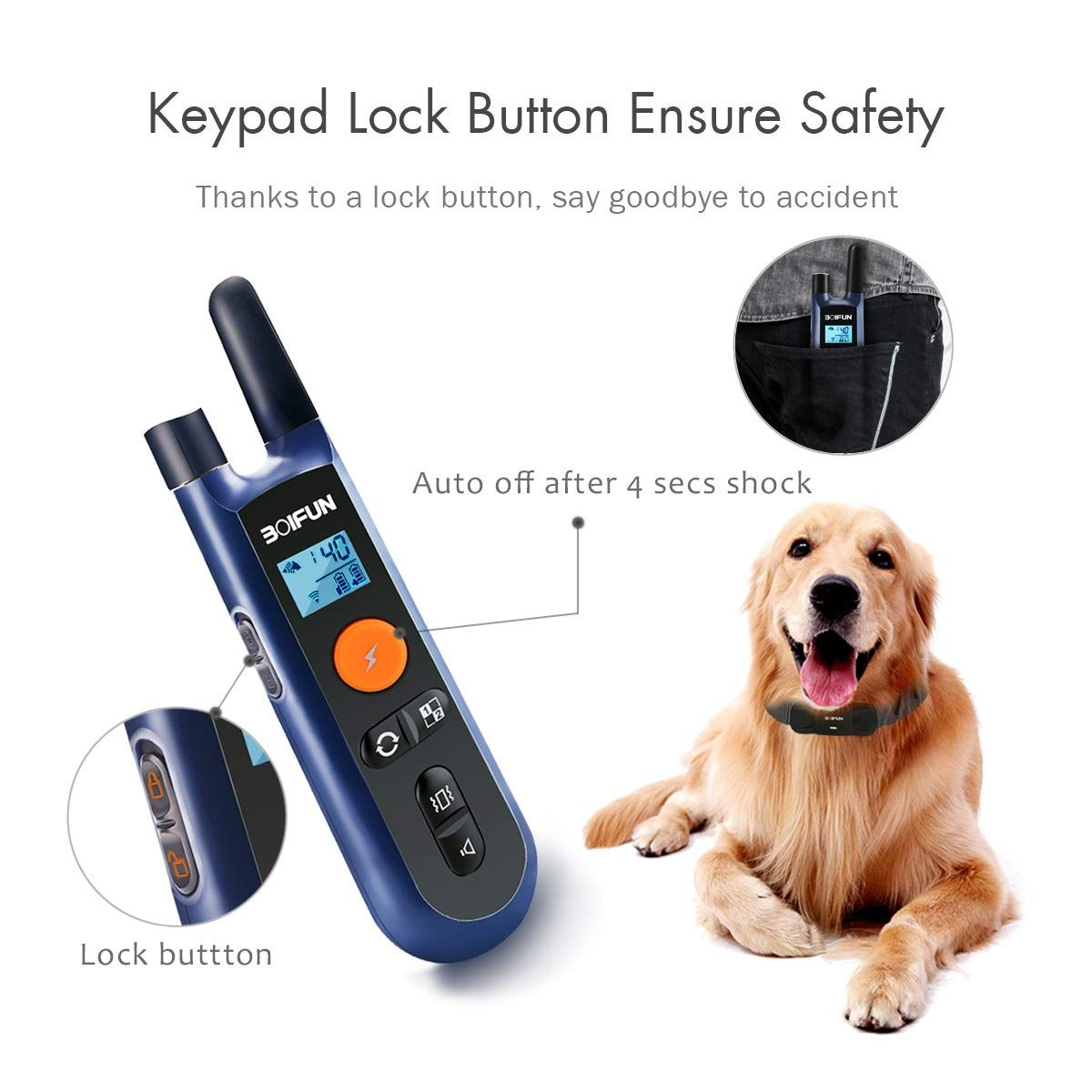 Dog Training Collar W Remote For Small Medium Large Dogs 3