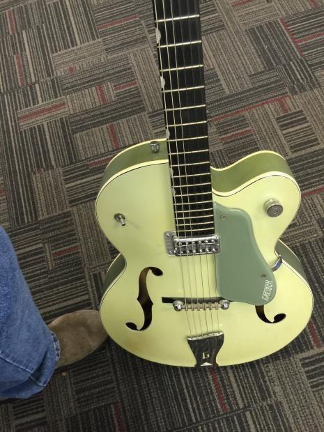 Gretsch 6125 Anniversary Smoke Green 1961 Reverb Guitar Gretsch Acoustic Guitar Strings