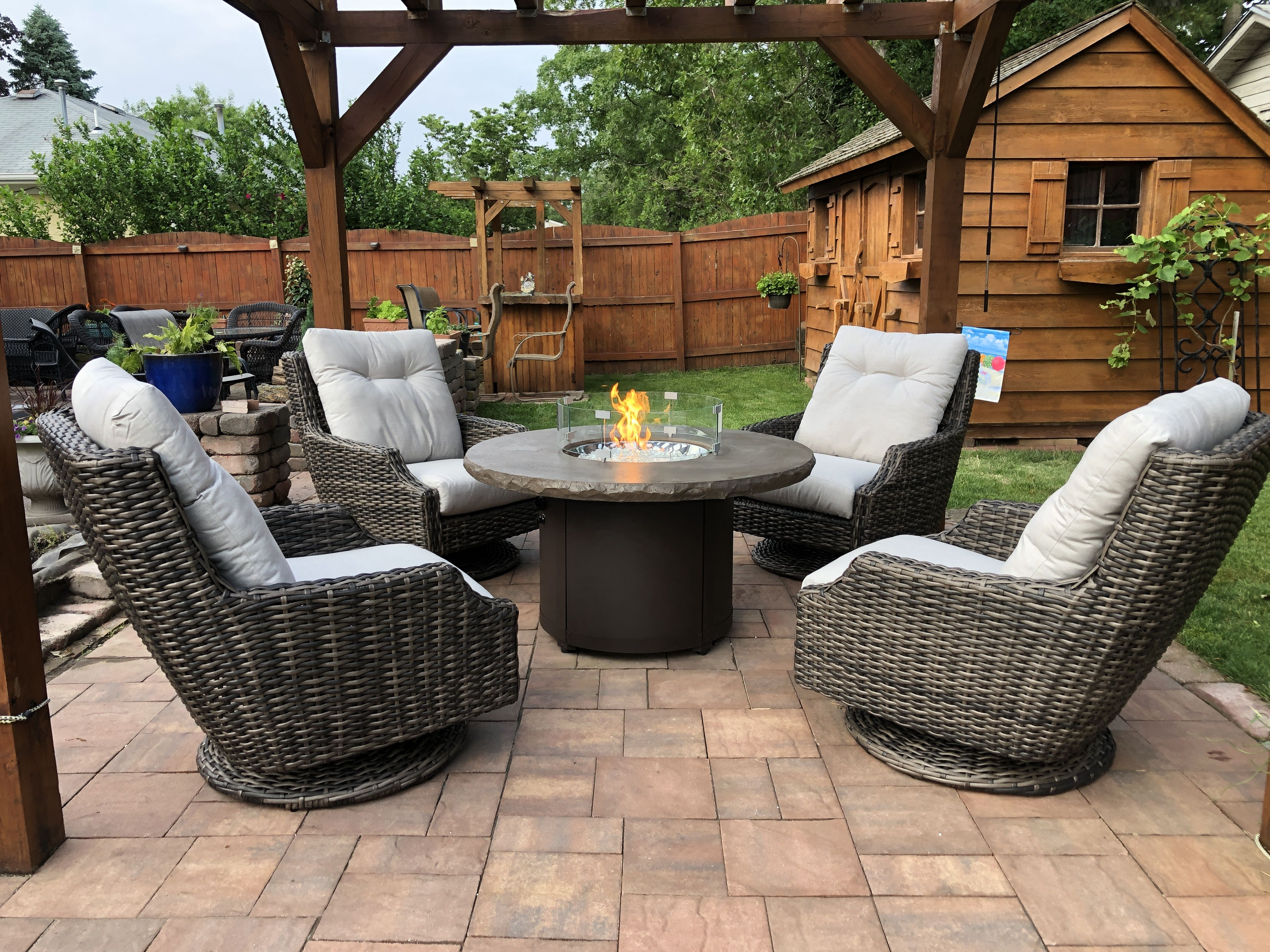 Largo Swivel Chat Groups By Lloyd Flanders Quick Ship The Wickery Outdoor Furniture New Jersey Patio Furniture Outdoor Furniture Ideas Backyards Patio Patio Furniture