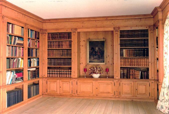 Bildergebnis für bücherwand antik   Bücherwand, Buch wand ...