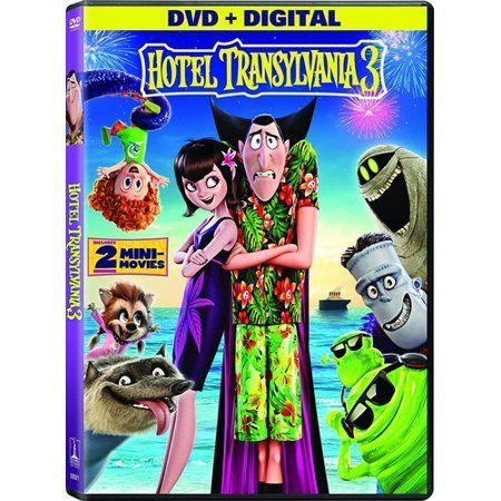 Hotel Transylvania 3 Summer Vacation Dvd Digital Copy In 2019