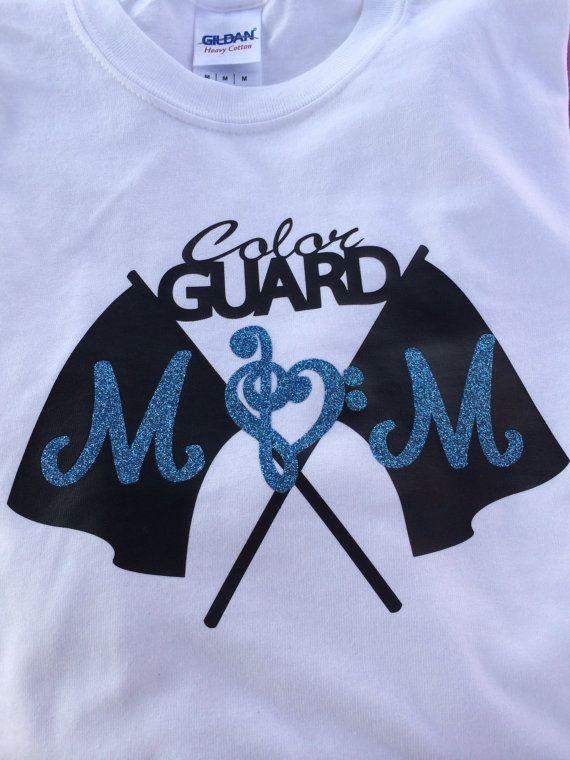 53e3d454 Color Guard Mom shirt by ShowItProud on Etsy | Color Guard | Color ...