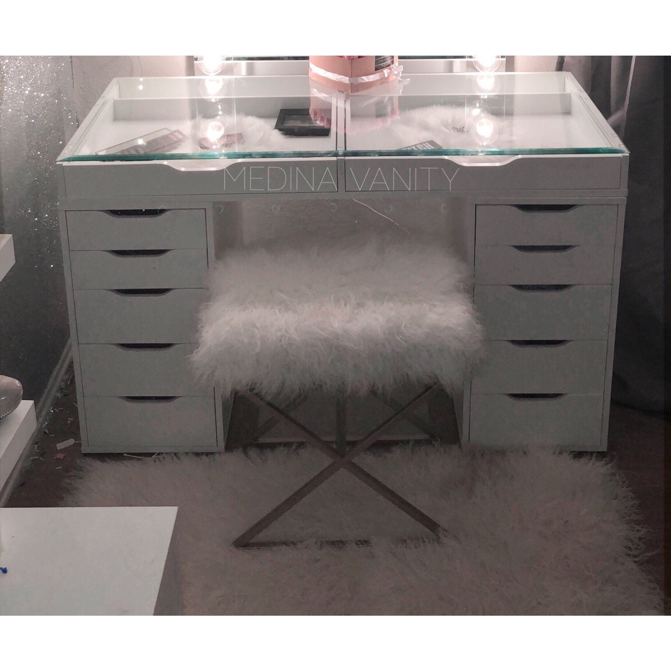 Zara Vanity Table 2 Dressers Medina Vanity Vanity Table