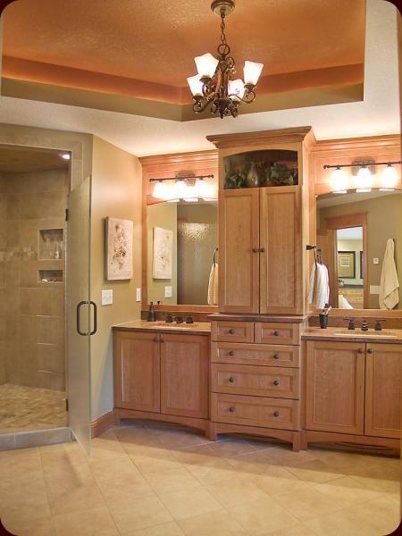 jack and jill master bath omg i love this bathroom with