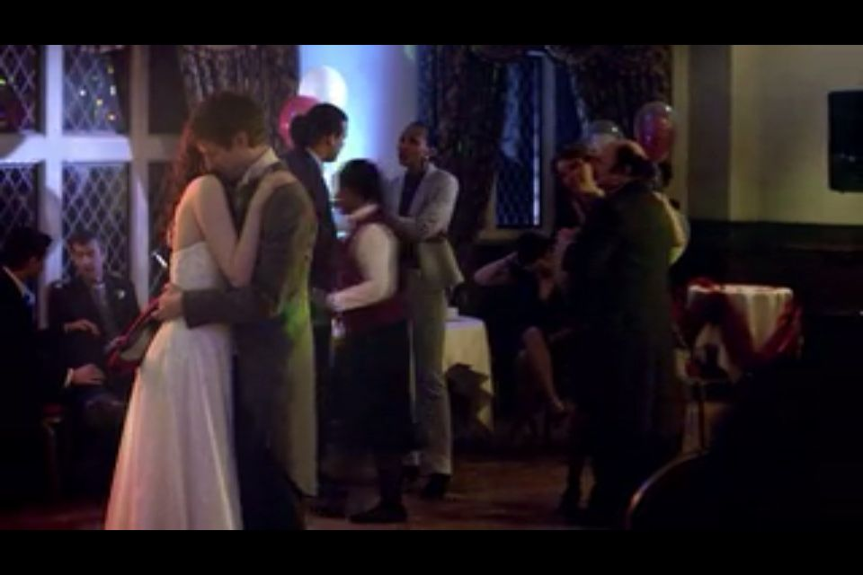 Amy and Rory's wedding Amy and Rory Pond  #Doctor Who