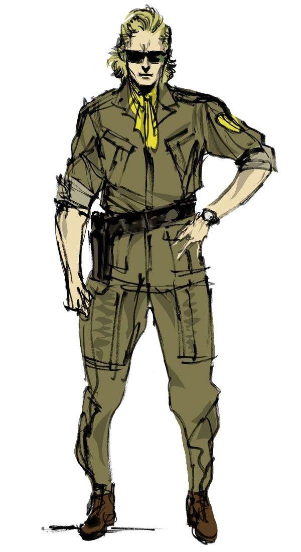 Kazuhira Miller Characters Art Metal Gear Solid Peace Walker Metal Gear Metal Gear Solid Walker Art
