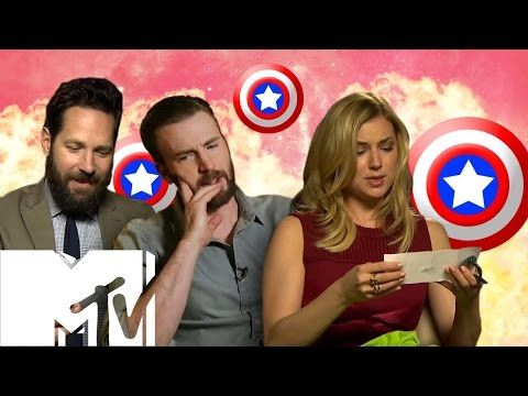 "Chris Evans & the ""Captain America: Civil War"" Cast Play ""Superhero Would You Rather?"" - YouTube"