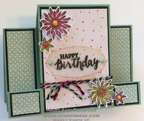 Grateful Bunch Birthday Flowers | StampinMak