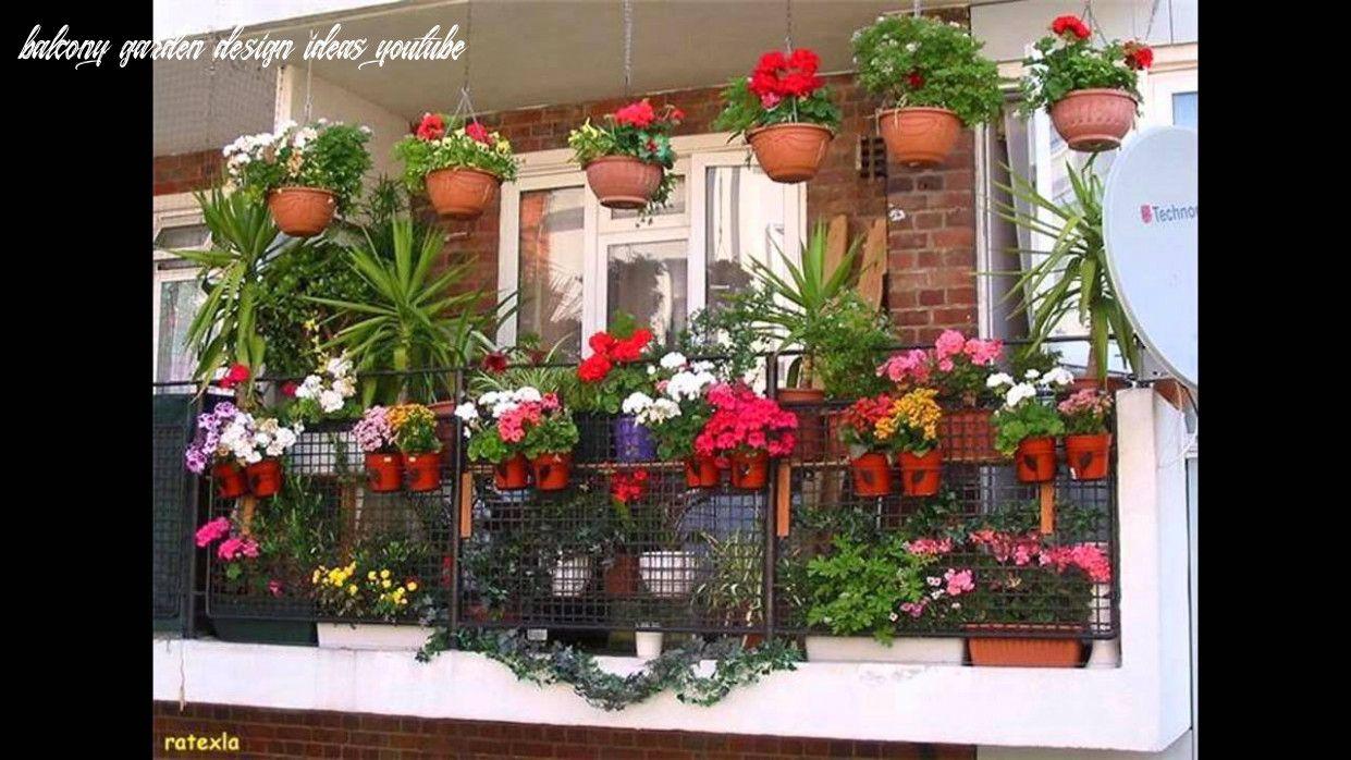 Balcony Garden Design Ideas Youtube in 29  Balcony grill design