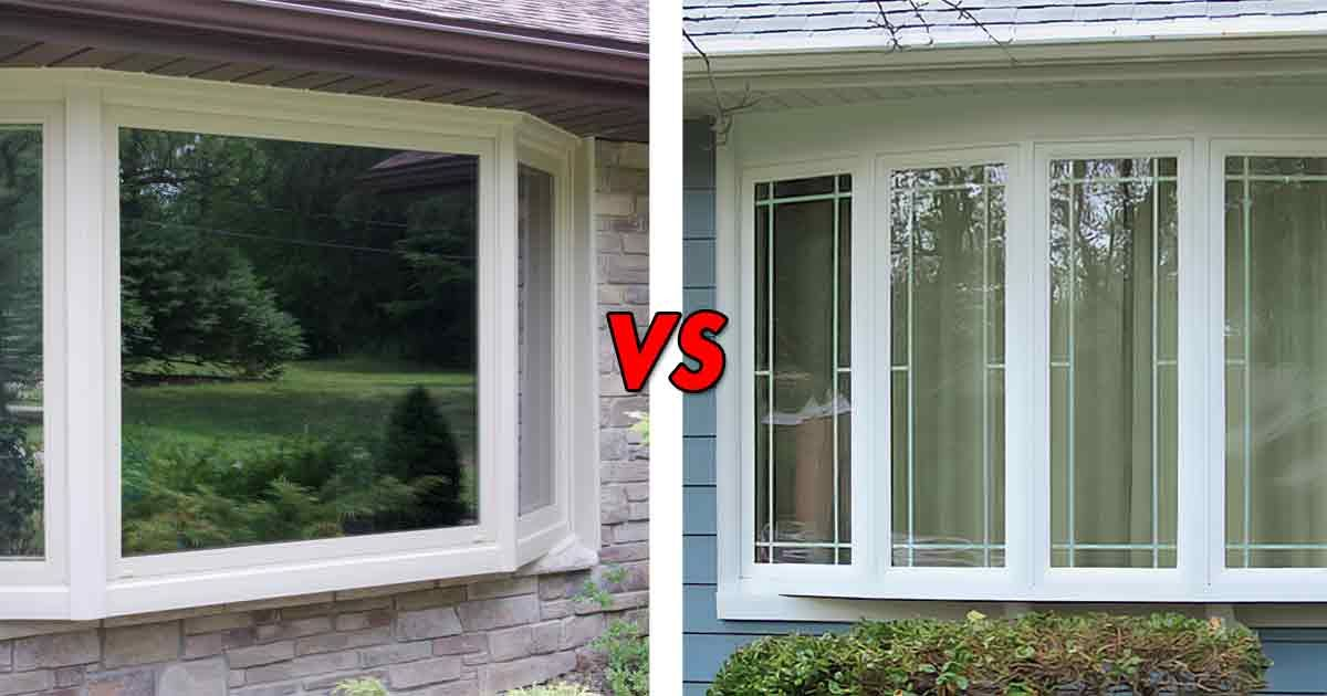 Bay Windows Vs Bow What S The Difference Bow Window Bay