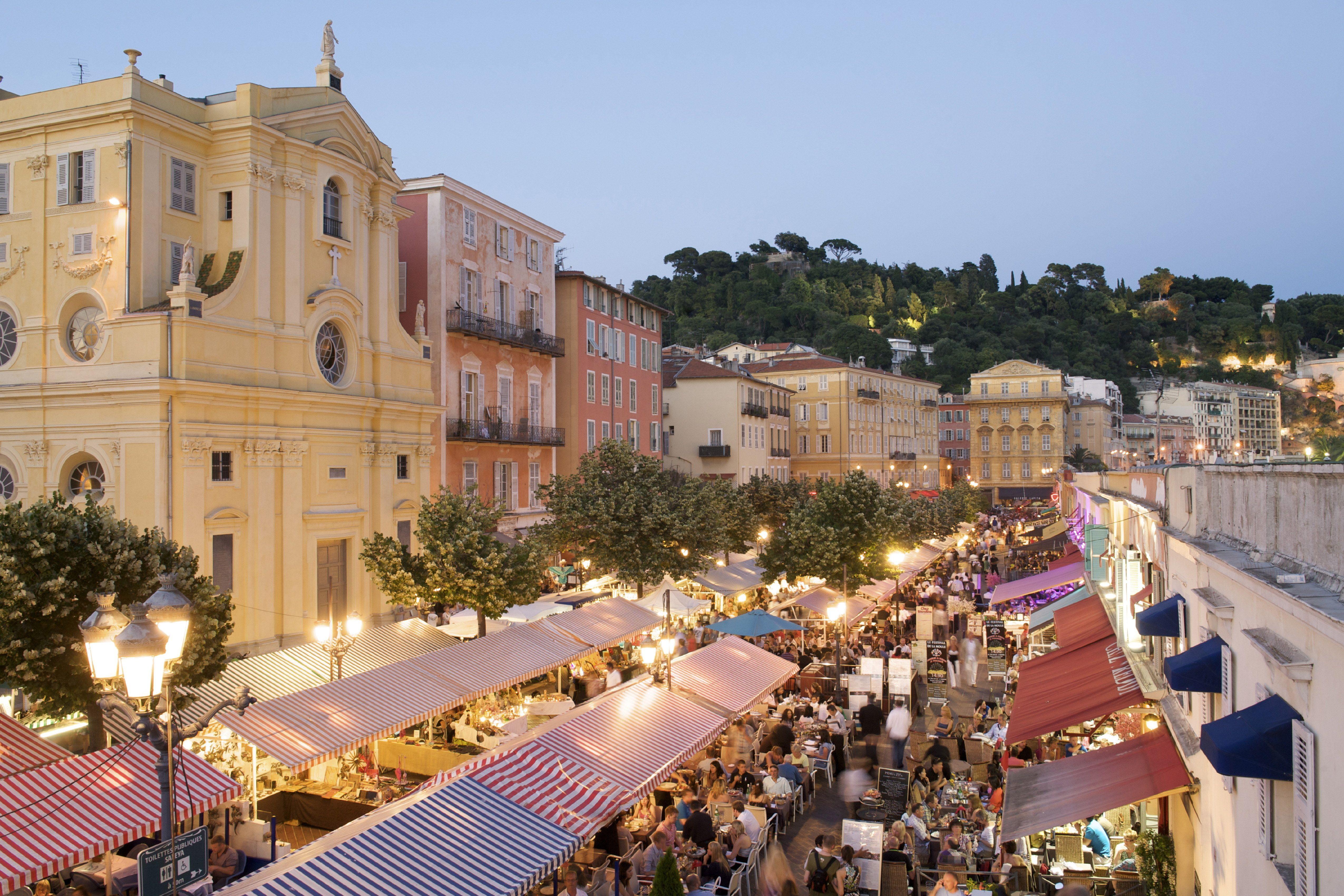 9 Beautiful Food Markets from Around the Globe | Cours saleya, Nice ...