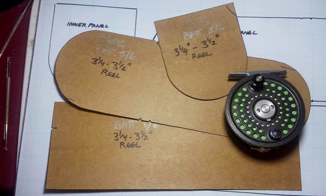 The Making Of A Leather Reel Case Part 1 Fly Fishing Personalized Fishing Gifts Fish