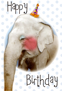 Cute Elephant Birthday Card Free Greetings Island Happy Birthday Elephant Birthday Card Printable Free Printable Birthday Cards