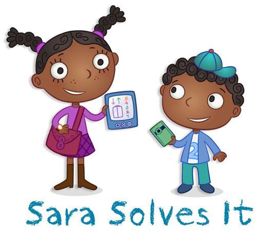 """Check out our new math program, """"Sara Solves It"""" & please comment if you like what you see. What Amazon Studios decides to move forward with is up to you! http://studios.amazon.com/projects/18525"""