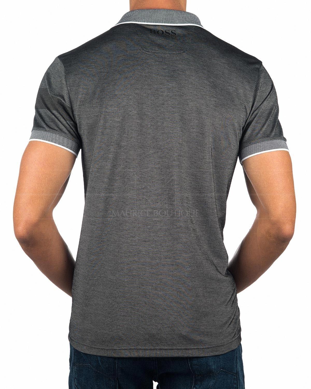 dc3866d4b Hugo Boss Polo Shirt - Dark Grey Paddy Pro   Tişört modelleri   Hugo ...