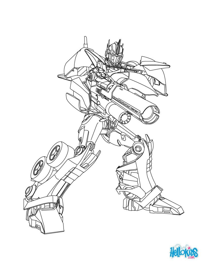 decepticons coloring page more transformers content on hellokids