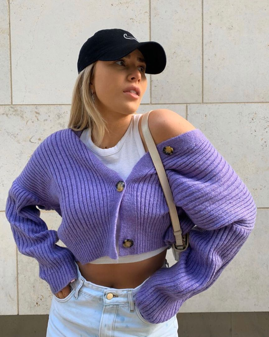 Pin by Audrey on Fashion x in 2020 | Ribbed cardigan ...