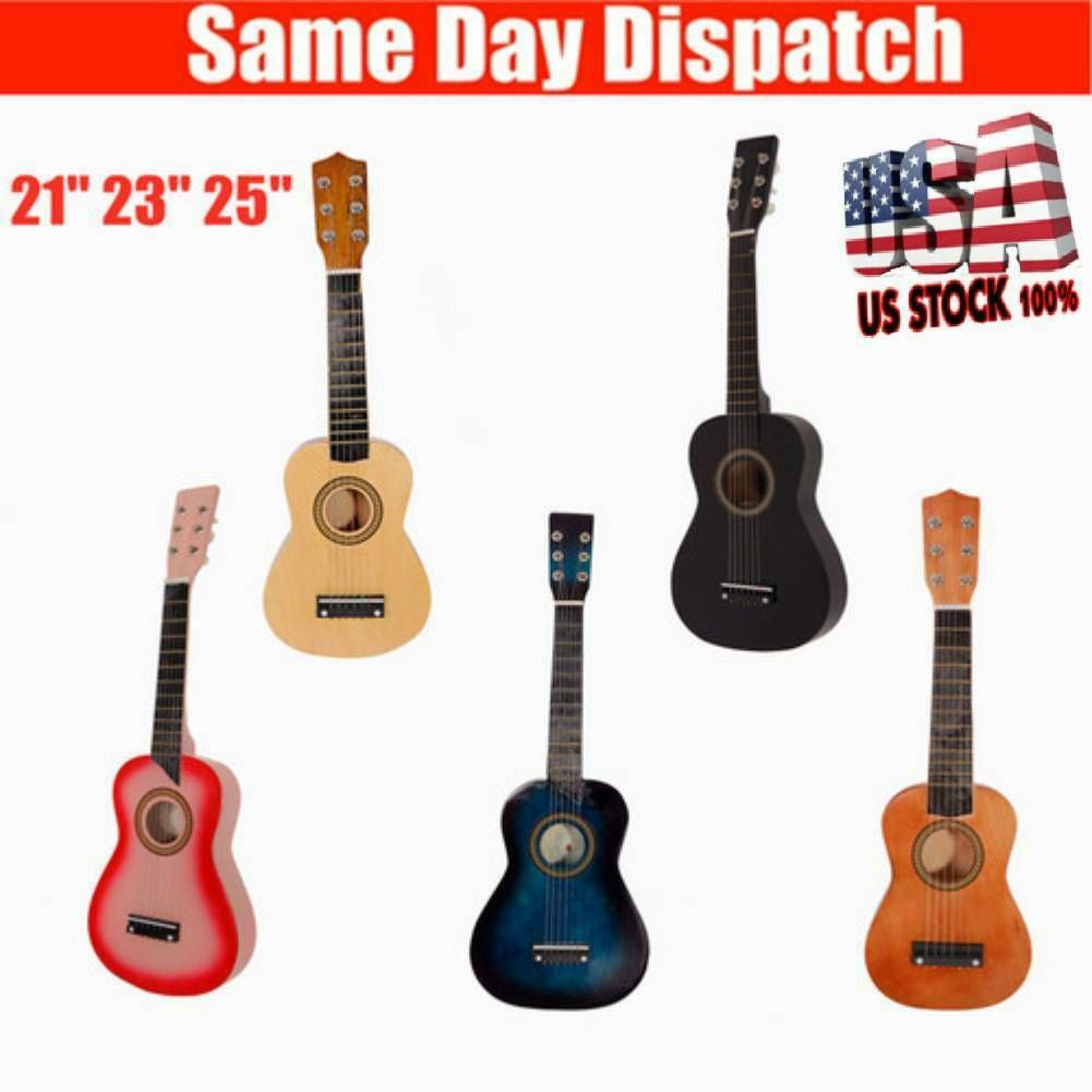 Quality Classic Wood Acoustic Guitar With Plectrum Pick Strings Beginners Guitar Ideas Of Guitar Guitar Acousticguitar Acoustic Guitar Guitar Plectrum
