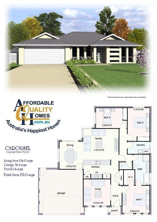 House Plan Affordable Quality Homes Carousel 172sqm House Plans Home Design Plans Plan Design