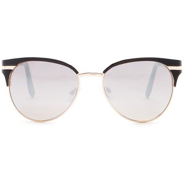 Steve Madden Women\'s Vintage Soho Sunglasses (48 BRL) ❤ liked on ...