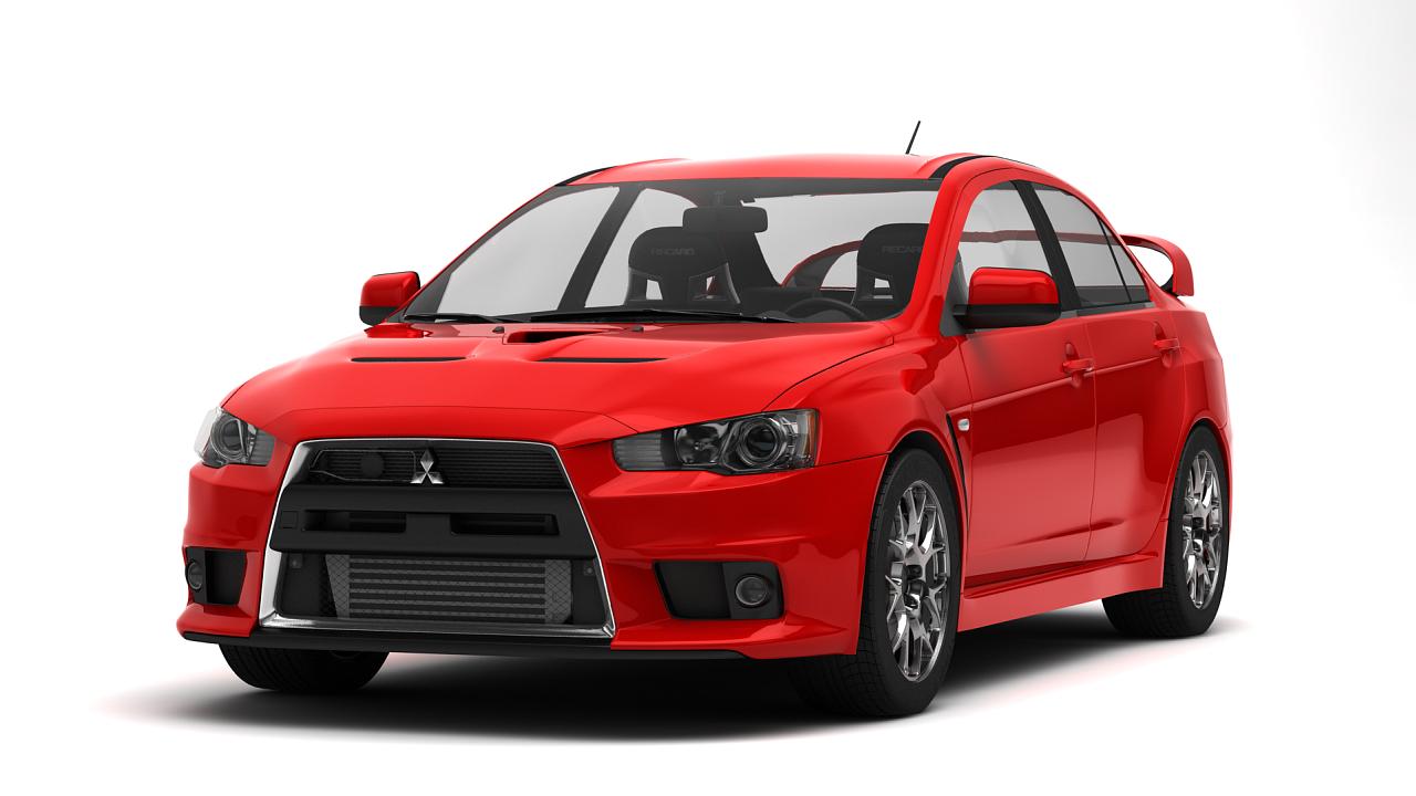 Mitsubishi Lancer Evolution X LVL 1 Max Speed: 260km/h