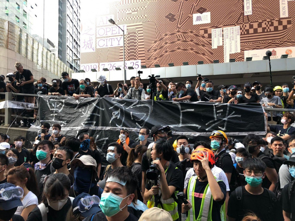 Pin On Hk Protest 2019