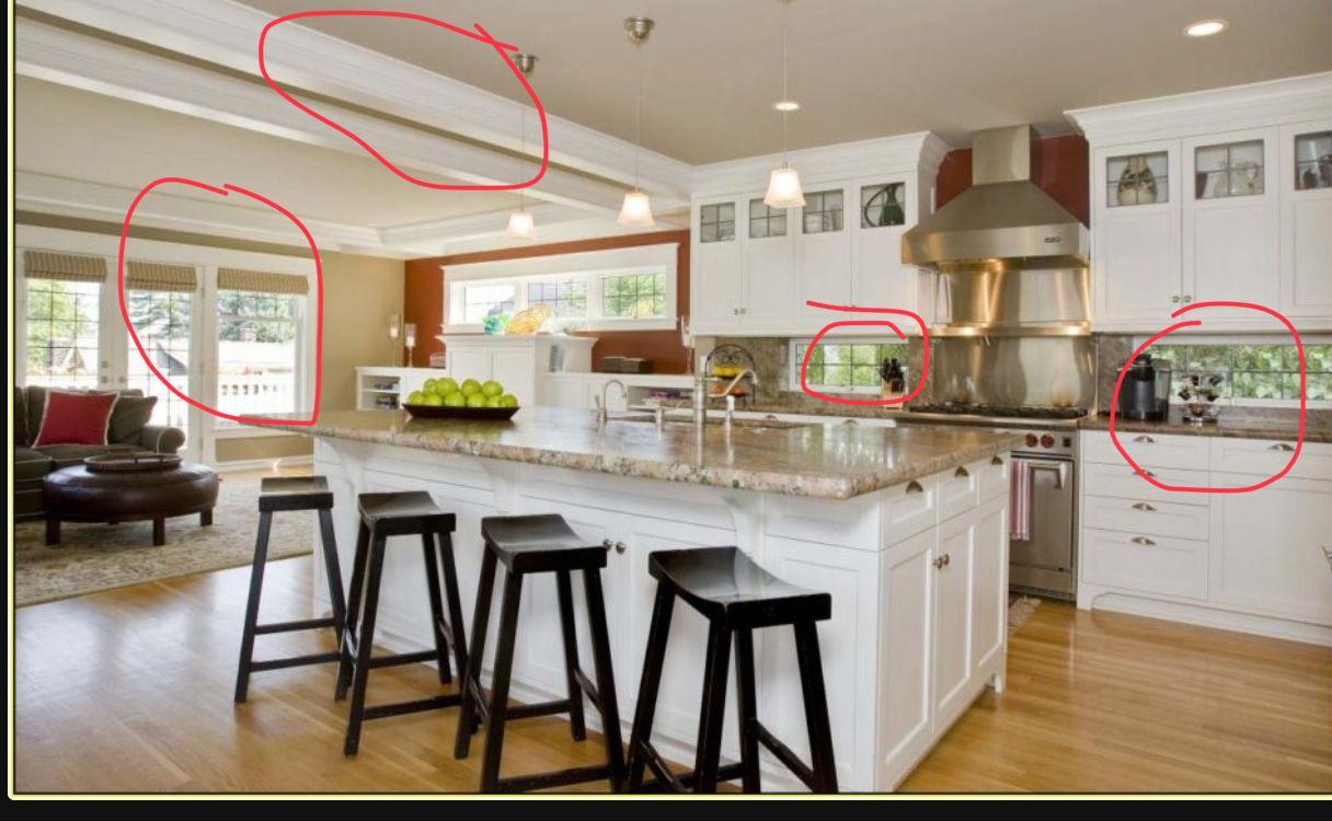 Visual Dr Kitchen Layout Windows Under Cabinets Kitchen Layout Kitchen Design Dr Kitchen