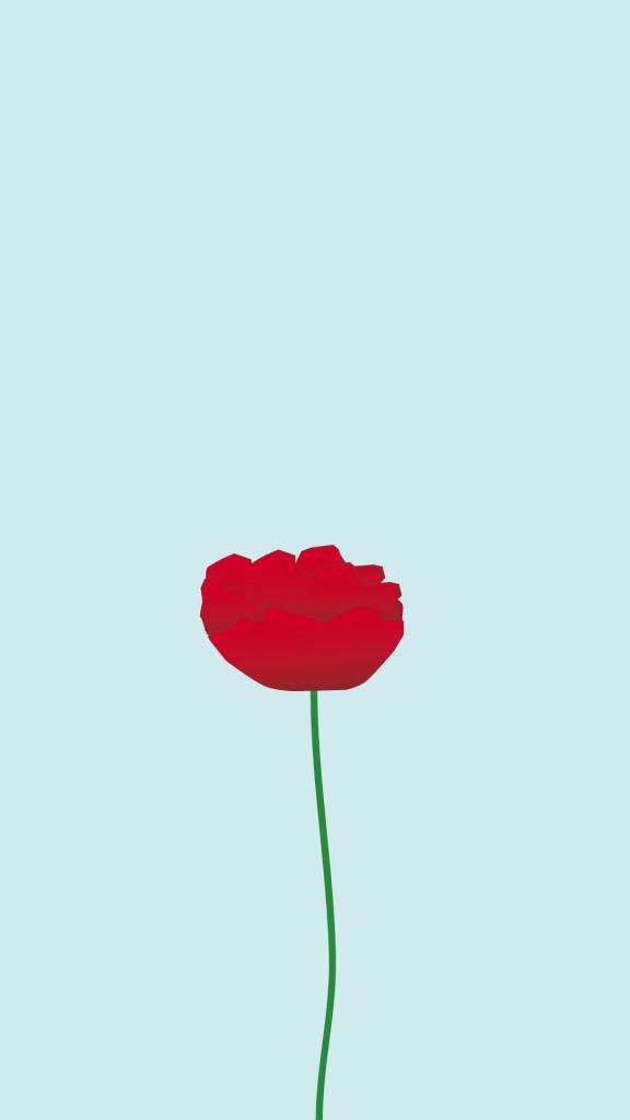 Simple Flower Minimalistic Iphone Wallpaper Panpins Minimalist Wallpaper Iphone Wallpaper Minimalist Iphone