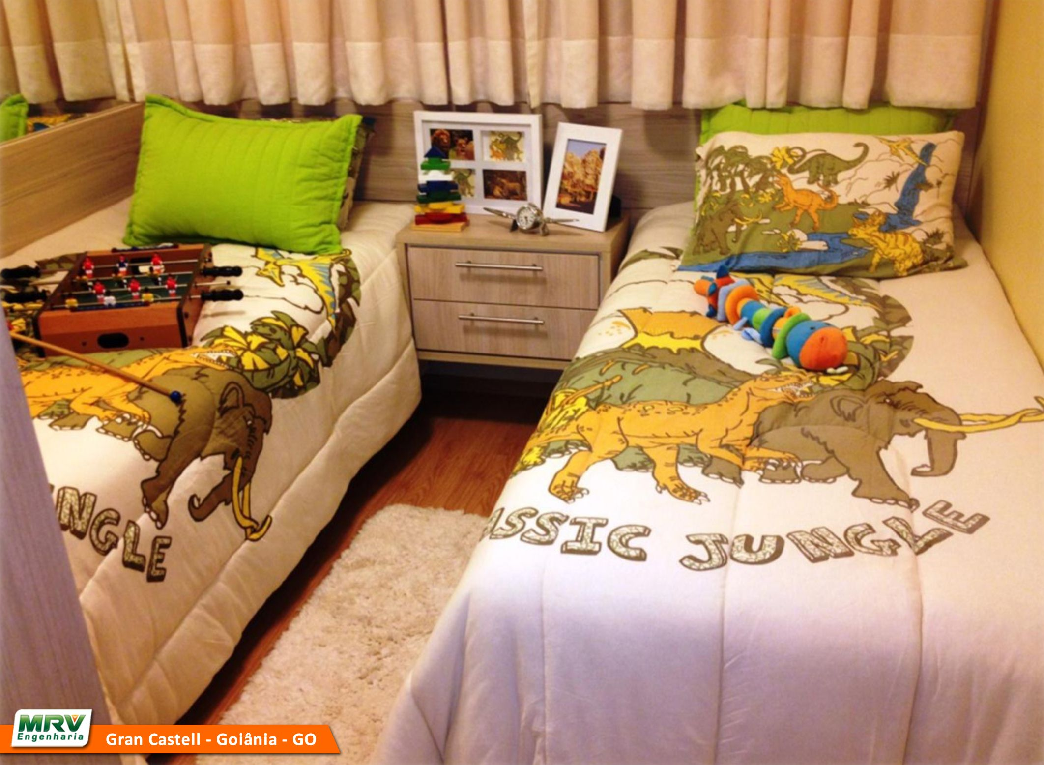 Apartamento Decorado 2 Quartos Do Gran Castell No Bairro Jardim Da  -> Apartamento Mrv Decorado Fotos
