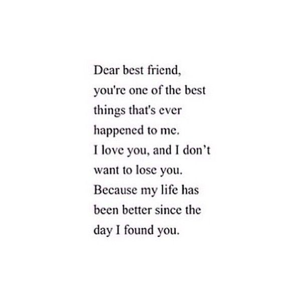 Tumblr Liked On Polyvore Featuring Text Fillers Phrase Quotes And Saying Friends Quotes Best Friend Quotes Dear Best Friend