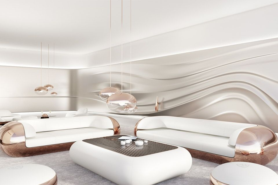 23++ Futuristic living room furniture inspirations