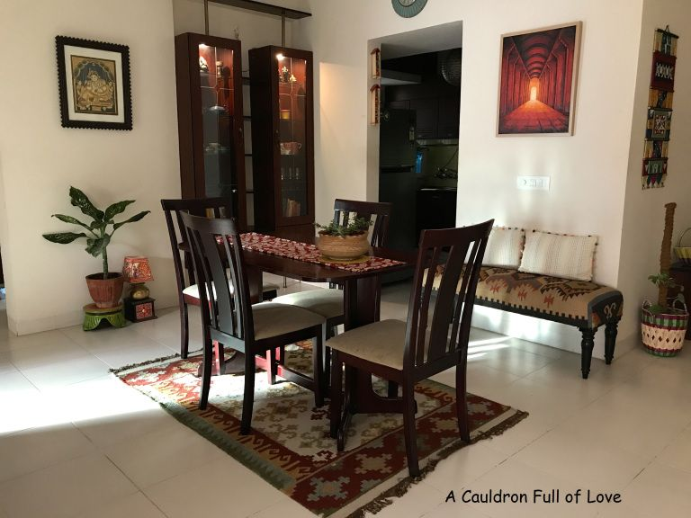 Effortlessly Elegant And Simple Renu S Paradise Patio Furniture Makeover Rustic Dining Furniture Asian Home Decor