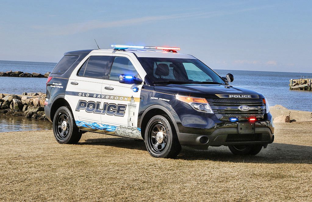 Osfd Ford Utility Interceptor With Whelen Legacy Lightbar Police