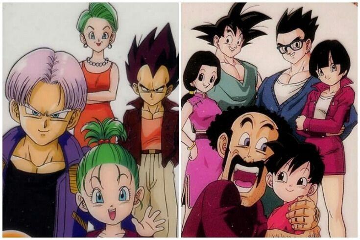 A Beautiful Illustration Of The Brief And The Son Family Dragon Ball Artwork Dragon Ball Goku Anime Dragon Ball