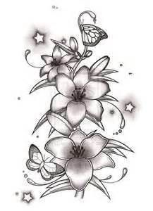 larkspur tattoo design yahoo search results wildflower tattoo rh pinterest co uk Carnation and Larkspur Tattoo larkspur flower tattoo designs
