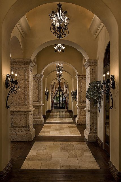Inside vamp mansion clean and regal compared to the murky for Regal flooring arizona