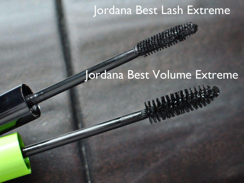 b6b4fdad3f4 Jordana Best Volume Extreme Mascara versus Jordana Best Lash Extreme - how  do both mascaras measure up?