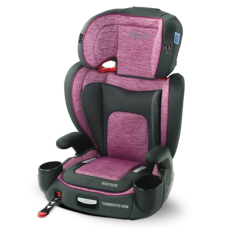 Graco Turbobooster Grow Highback Booster Car Seat (With