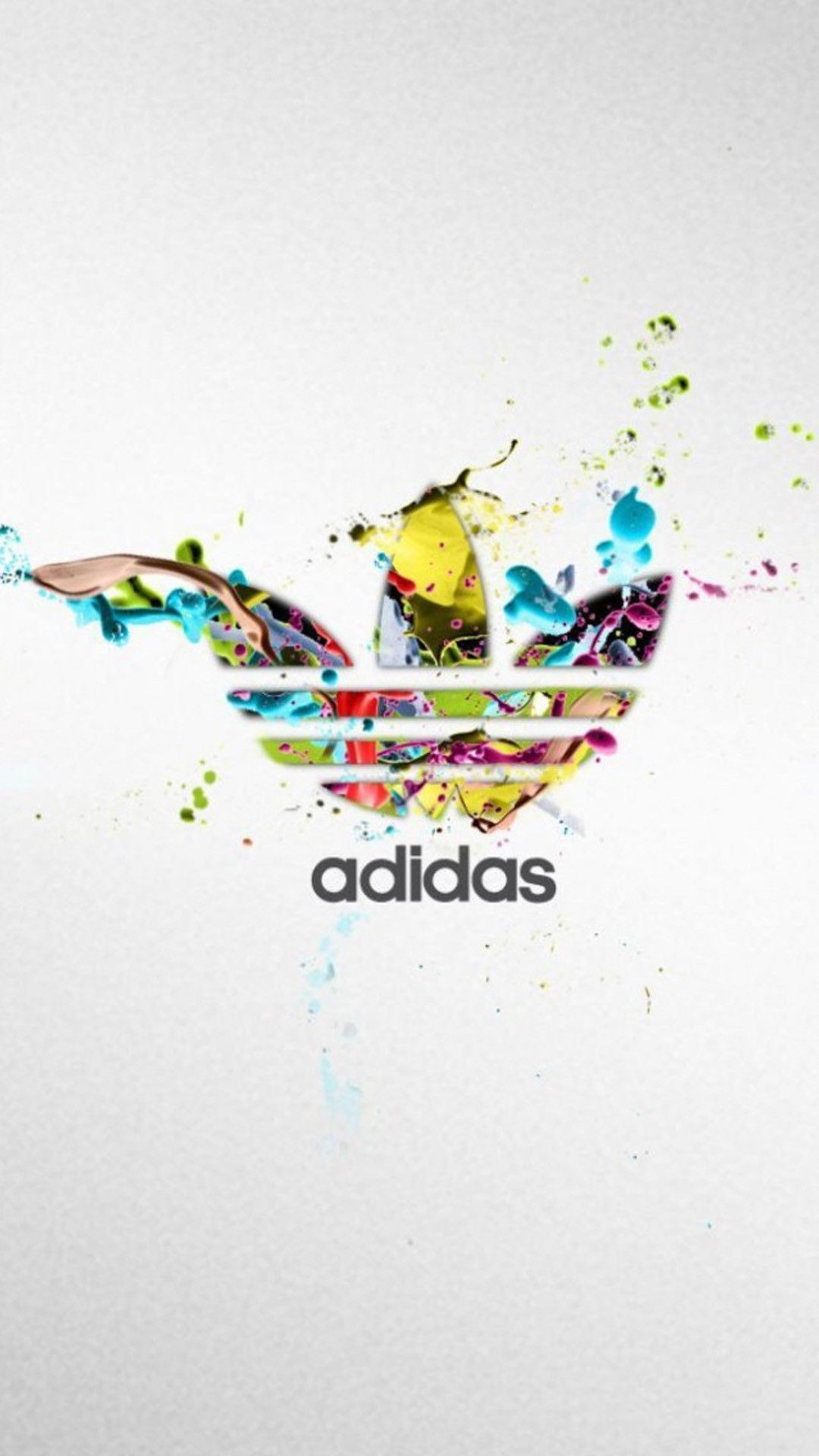 Sports iPhone 6 Plus Wallpapers Adidas Colorful Logo