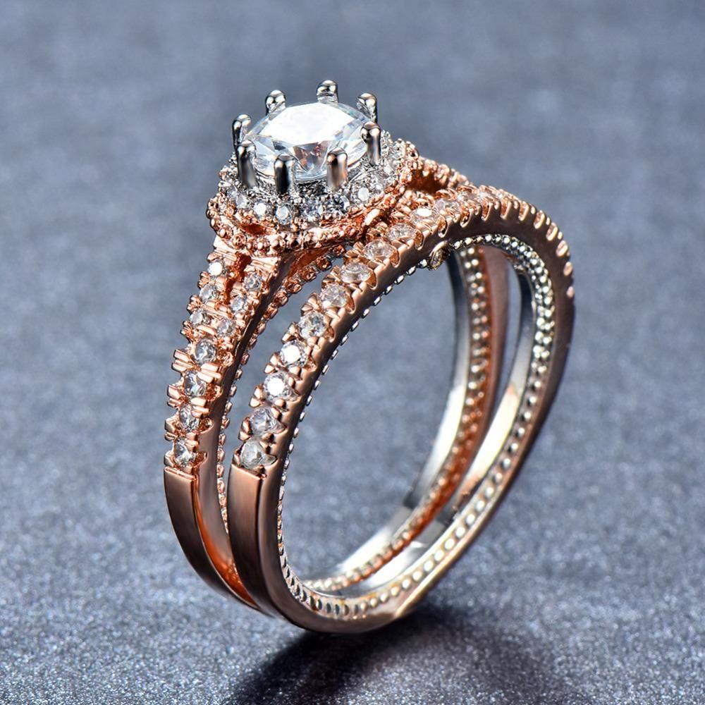 18KT Rose Gold Filled Ring Jemros Gold filled ring