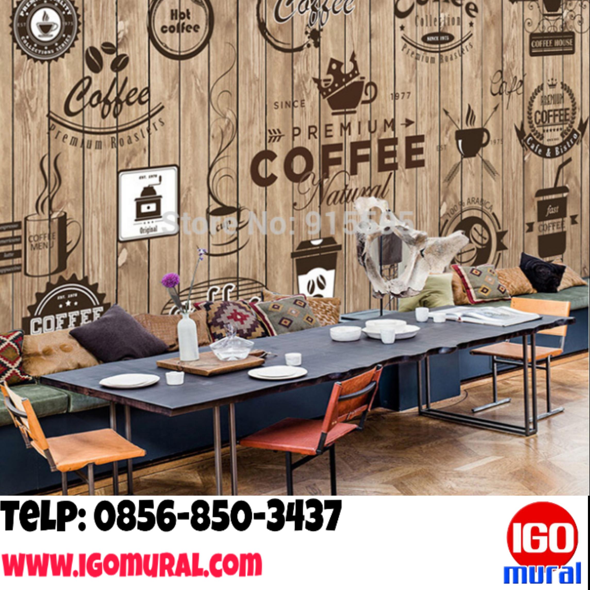 Profesional Telp 0856 850 3437 Lukis Tembok Café Lukisan