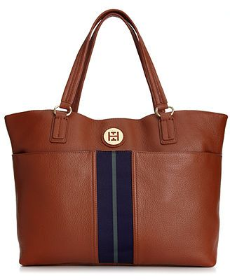 Tommy Hilfiger Handbag, Montana Pebble Tote - Tote Bags - Handbags & Accessories - Macy's