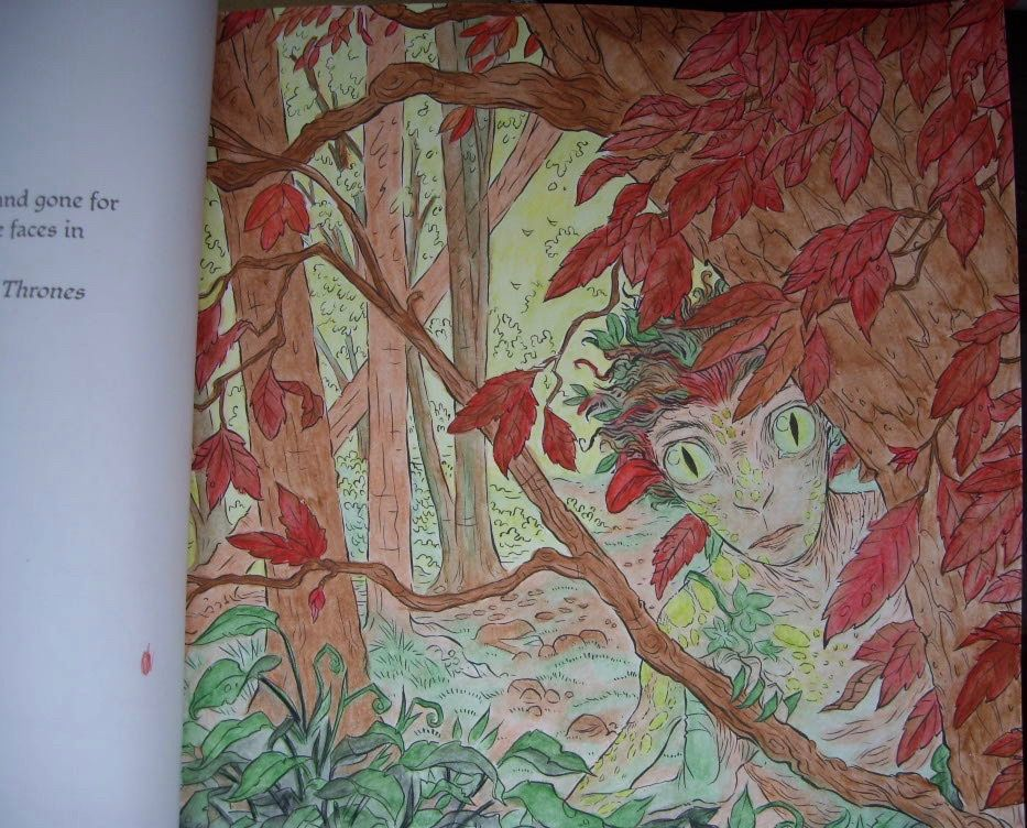Game of Thrones Colouring book Children of the Forest ...
