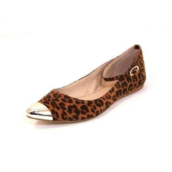 8b0530f642fc MIA Ashley - Leopard Flat Skimmer | Products | Flats, Leopard flats ...